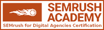 SEMush for Agencies Certified